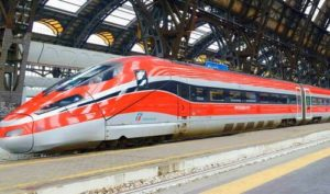 義大利Frecciarossa - 紅箭特快列車