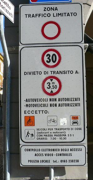 義大利自駕-ZTL(Zona Traffico Limitato)