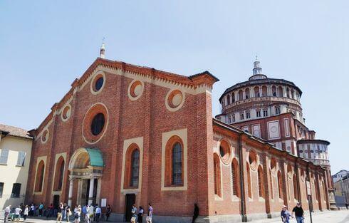 米蘭必玩-恩寵聖母教堂 Santa Maria delle Grazie