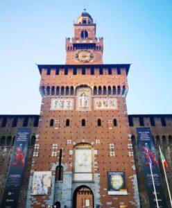 米蘭必玩-斯福爾扎古堡 Castello Sforzesco