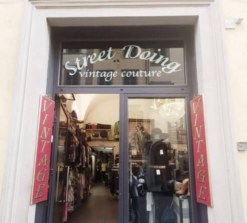 佛羅倫斯必買-Street Doing Vintage Couture