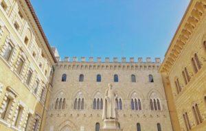 義大利佛羅倫斯必玩-西恩納/錫耶納Siena薩林貝尼宮 Palazzo Salimbeni