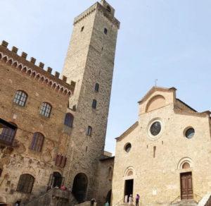 義大利佛羅倫斯必玩-聖吉米尼亞諾San Gimignano-聖母升天協同教堂 Collegiata di Santa Maria Assunta