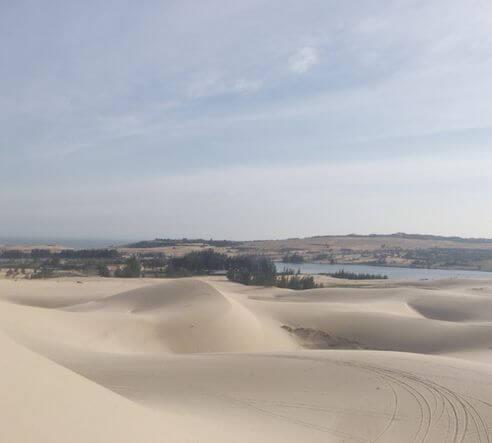 美奈必玩-白沙丘 White Sand Dunes - Bau Trang (Bàu Trắng)