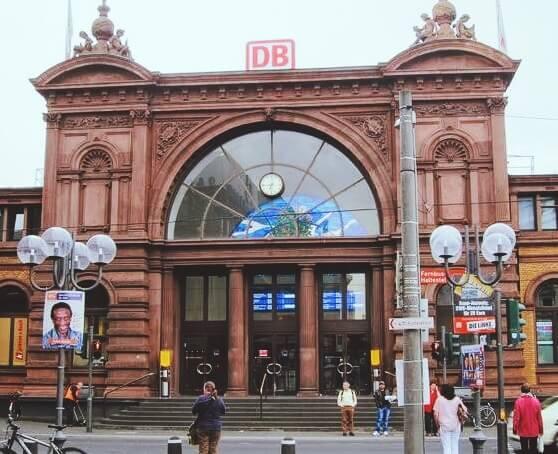 德國波昂火車總站 Bonn HBF (Bonn Hauptbahnhof)
