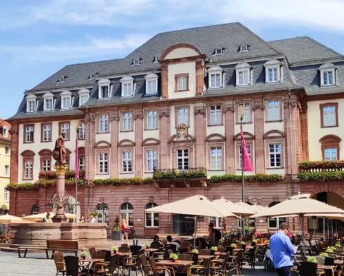 德國海德堡Heidelberg必玩-Heidelberger Marktplatz 市集廣場