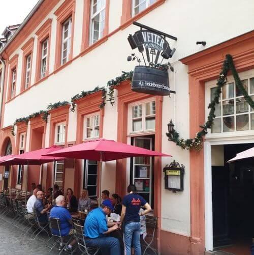 德國海德堡Heidelberg必吃-Vetter's Alt Heidelberger Brauhaus