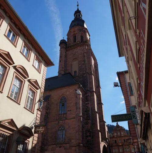 德國海德堡Heidelberg必玩-Heiliggeistkirche 聖靈堂