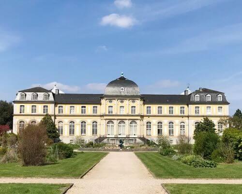 德國波昂Bonn必玩-Poppelsdorfer Schloss 泊波爾斯多夫宮