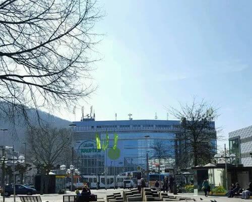 德國海德堡Heidelberg必玩-Bismarckplatz Park 俾斯麥廣場