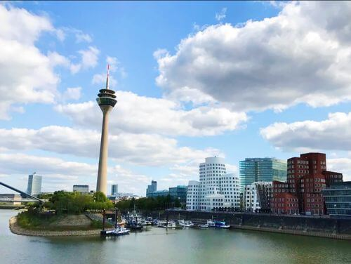 德國杜塞道夫必玩-Düsseldorf-Hafen 傳媒港區
