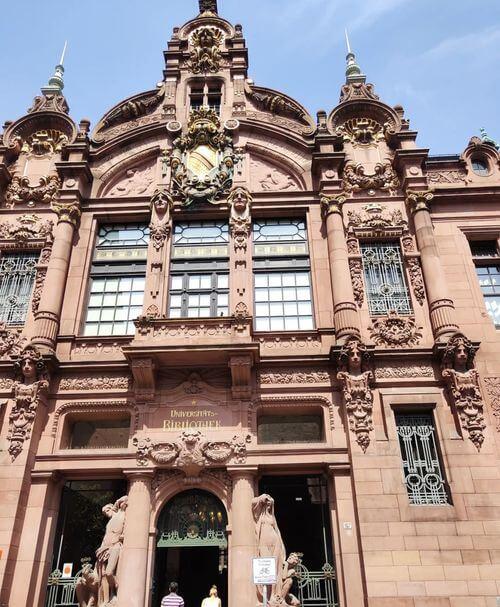 德國海德堡Heidelberg必玩-Universitätsbibliothek Heidelberg 海德堡大學圖書館