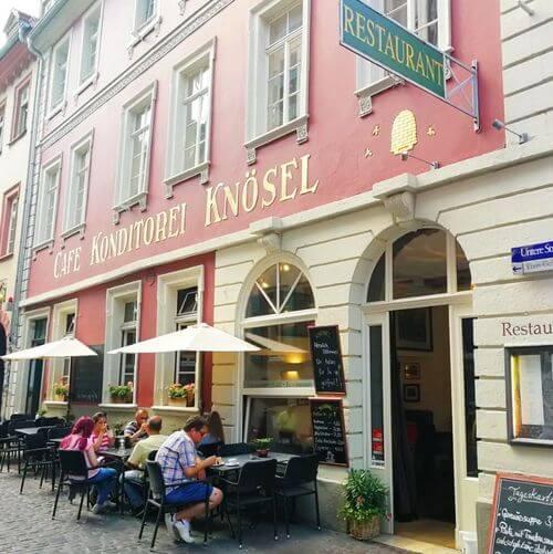 德國海德堡Heidelberg必吃-Cafe Knösel