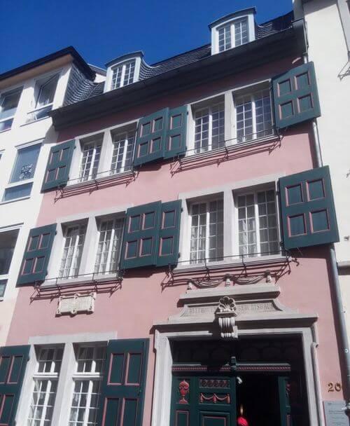 德國波昂Bonn必玩-Beethoven-Haus 貝多芬之家 = 貝多芬故居