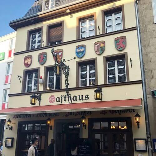 德國波昂Bonn必吃-Gasthaus Im Stiefel