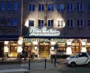 德國杜塞道夫必吃-Brauereiausschank Frankenheim