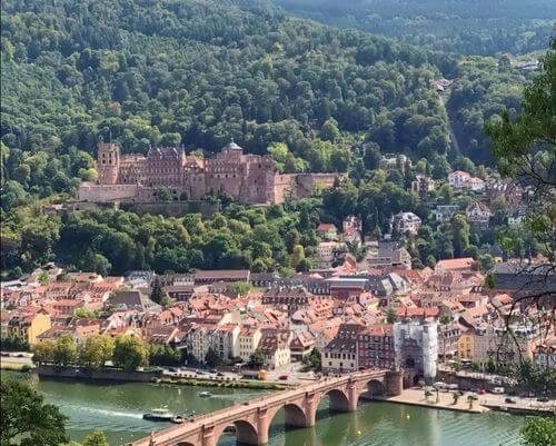 德國海德堡Heidelberg必玩-Philosophenweg 哲學家小徑