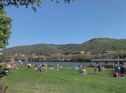 德國海德堡Heidelberg必玩-Neckarwiese 公園