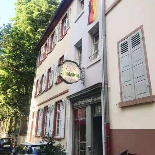 德國海德堡Heidelberg必吃-Schnitzelbank