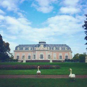 德國杜塞道夫必玩-Schloss Benrath 本拉特宮 = 奔阿特宮