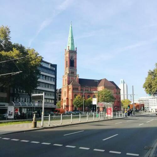 德國杜塞道夫必玩-Johanneskirche (St John's Church)