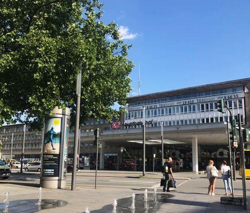 德國埃森火車總站 Essen Hauptbahnhof (Essen Hbf)