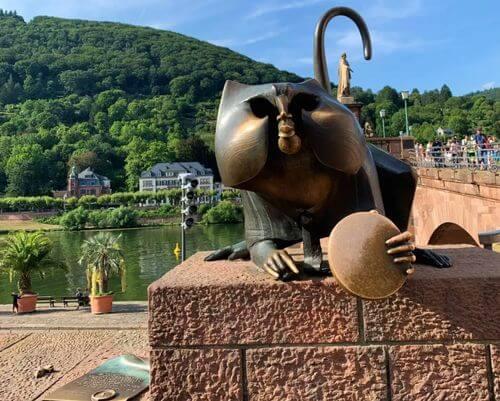 德國海德堡Heidelberg必玩-Alte Brücke 老橋 = Karl-Theodor-Brück 卡爾-特奧多橋