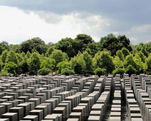 柏林必玩-Denkmal für die ermordeten Juden Europas 猶太人紀念碑