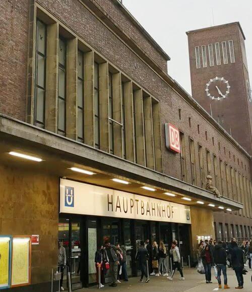 杜塞道夫火車總站 Düsseldorf Hauptbahnhof (Düsseldorf Hbf)