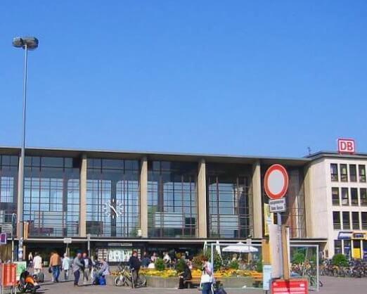 德國海德堡火車總站 Heidelberg HBF (Heidelberg Hauptbahnhof)