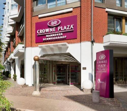 小資精選網紅飯店- 漢諾威皇冠假日飯店 - Crowne Plaza - Hannover