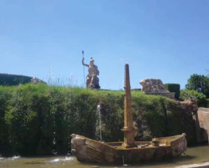 義大利蒂沃利Tivoli必玩 -Villa d'Este 埃斯特別墅 (千泉宮)-Fontana della Rometta 小羅馬噴泉 (Romett's Fountain)