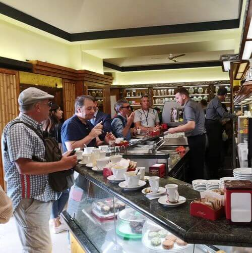 義大利羅馬Rome (Roma)必吃 -La Casa del Caffè Tazza d'Oro 金杯咖啡
