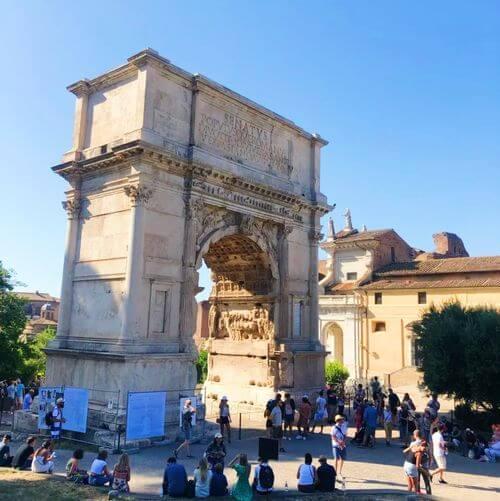 義大利羅馬Rome (Roma)必玩 -Arco di Tito 提圖斯凱旋門