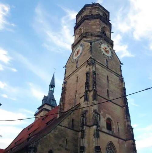 德國司徒加特=斯圖加特Stuttgart必玩-Evangelische Stiftskirche Stuttgart 協同教堂