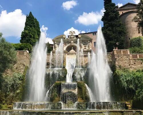 義大利蒂沃利Tivoli必玩 -Villa d'Este 埃斯特別墅 (千泉宮)-Fontana dell'Organo 管風琴噴泉
