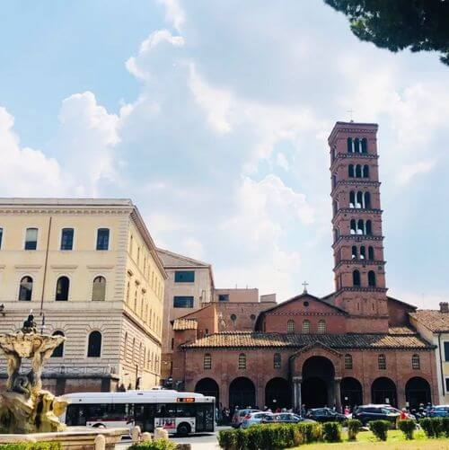 Santa Maria in Cosmedin 希臘聖母堂義大利羅馬Rome (Roma)必玩 -