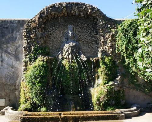 """義大利蒂沃利Tivoli必玩 -Villa d'Este 埃斯特別墅 (千泉宮)-Fontana Madre Natura 百乳女神 """"阿耳忒彌斯 Artemis"""""""