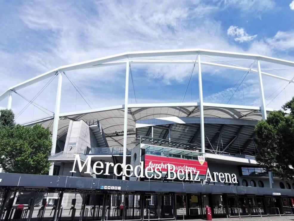 德國司徒加特=斯圖加特Stuttgart必玩-Mercedes-Benz Arena 賓士競技場