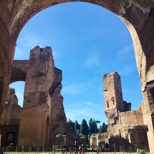 義大利羅馬Rome (Roma)必玩 -Terme di Caracalla 卡拉卡拉浴場