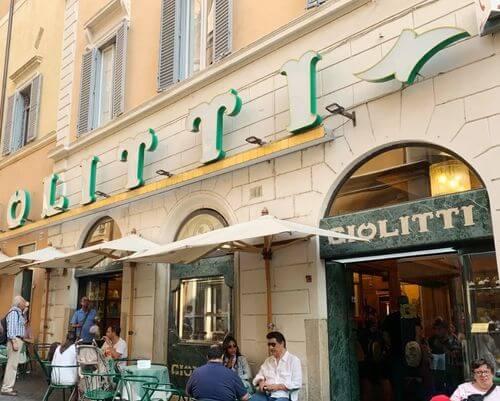 義大利羅馬Rome (Roma)必吃 -Giolitti