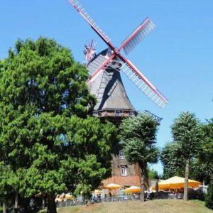 德國不來梅=不萊梅Bremen必玩-Mühle Am Wall 護城河公園 = Wallanlagen 風車公園