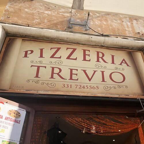 義大利蒂沃利Tivoli必吃 -Pizzeria Trevio