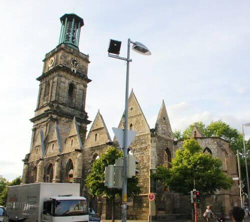 德國漢諾威Hannover必玩-Die Aegidienkirche 阿吉迪教堂