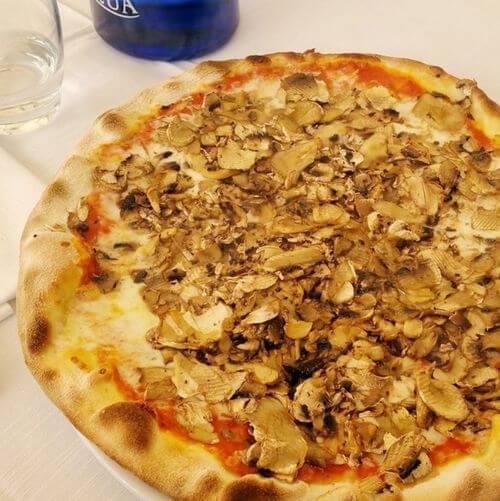 義大利蒂沃利Tivoli必吃 -Ristorante Pizzeria Da Sandrina
