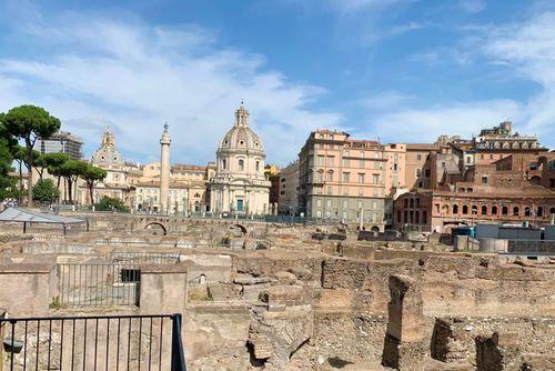 義大利羅馬Rome (Roma)必玩 -Foro Traiano = Imperial Forums 圖拉真廣場 = 帝國議事廣場