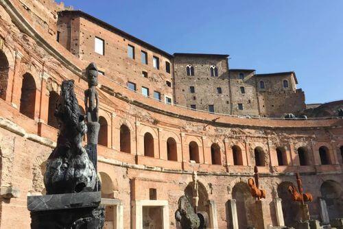義大利羅馬Rome (Roma)必玩 -Mercati di Traiano 圖拉真市場