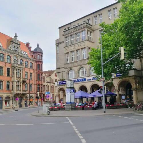 德國漢諾威Hannover必吃-Paulaner am Thielenplatz