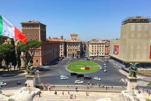 義大利羅馬Rome (Roma)必玩 -Piazza Venezia 威尼斯廣場