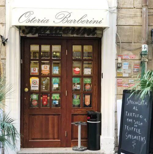 義大利羅馬Rome (Roma)必吃 -Osteria Barberini